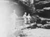 I'm in foreground.  We were walking out of Cold Water Canyon toward boat.  Taken Aug. 9, 1942.  [Courtesy of Jan Nadamoto]