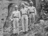 Taken August 9, 1942 at base of tree next to Stand Rock itself (my hi-water pants).  [Courtesy of Jan Nadamoto]