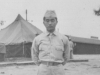 Taken Sept. 1942 (early part of Sept.) at Old Camp McCoy in C.K.C. uniform which we didn't wear any more.  [Courtesy of Jan Nadamoto]