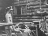 In the bldg. of the Minnesota Historical Society.  Taken Oct. 3, 1942 - St. Paul, Minn.  [Courtesy of Jan Nadamoto]