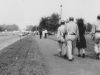 Taken June 21, 1943 walking up towards the Capitol Bldg, Washington D.C. Left to right:  Myself, Toshio Kawamoto, Sally & Harold Sugiyama.  [Courtesy of Jan Nadamoto]