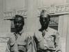 Taken June 21, 1943 Lto R: Harold Sugiyama and Toshio Kawamoto.  [Courtesy of Jan Nadamoto]