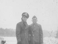 My friend P.F.C. Fred Kanemaru at Wisconsin Dell.  Rocky.  [Courtesy of Rocky Nakahara]