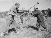 Left: Sg. Yamada  Right: Miogi Oct. 1942.  [Courtesy of Rocky Nakahara]