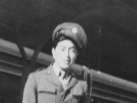 At Minneapolis Station.  Oct. 18, 1942.  [Courtesy of Rocky Nakahara]