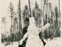 Charles Nishimura New Camp McCoy 1943  [Courtesy of Evelyn Nakaya]