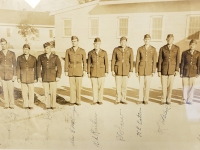 Officers at Camp McCoy September 1942 001 (Courtesy of Nisei Memorial Veterans Center)