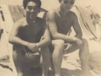 Tamura and Tanaka [Courtesy of Robert Arakaki]