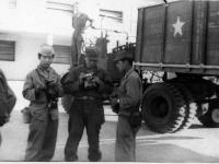 Yamamoto, Kenji Torigoe? - 100th soldiers get ready to take pictures on their way through Italy [Courtesy of Robert Arakaki]