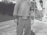 Raymond Kitagawa from the Anti-tank Section in Italy, 1945. [Courtesy of Fumie Hamamura]