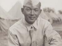 Stanley Hamamura at Camp McCoy. [Courtesy of Fumie Hamamura]