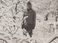 Stanley Hamamura at Camp McCoy in 1942. [Courtesy of Fumie Hamamura]
