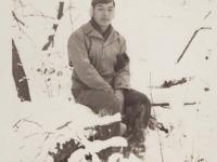Stanley Hamamura at Camp McCoy, Wisconsin, November 27, 1942. [Courtesy of Fumie Hamamura]
