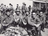 Radio Gang in Marseilles, France 1944. [Courtesy of Fumie Hamamura]