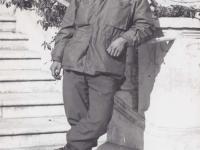 Kungo Iwai in Menton, France, December 1944. [Courtesy of Fumie Hamamura]