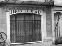 John's Bar in Beausoleil; the 100th Battalion's hangout [Courtesy of Fumie Hamamura]