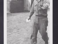 HQ 1st Sgt. Shimaukuro. [Courtesy of Fumie Hamamura]