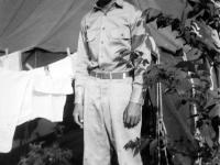 Stanley Hamamura at Camp McCoy, summer 1942 [Courtesy of Fumie Hamamura]