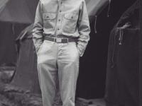 Sueo Noda at Camp McCoy, July 1942.