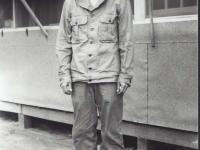 Sueo Noda at Camp Shelby, 1943. [Courtesy of Fumie Hamamura]