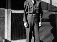 Stanley Hamamura at Camp Shelby, 1943 [Courtesy of Fumie Hamamura]