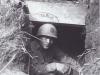 Stanley Hamamura in a Dugout, Anzio, Italy - 1944 [Courtesy of Fumie Hamamura]