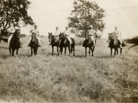 Cowboys in Wis Hills (Courtesy of Joyce Walters)