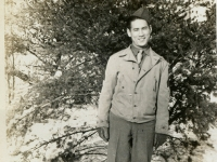 Eddie Matsueda, CampMcCoy, Wis '43. (Courtesy of Joyce Walters)