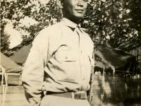 Camp McCoy, Toshio Kikuta, Ewa, Oahu 7/42. (Courtesy of Joyce Walters)
