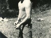 Ghedi, Italy - July, 1945. [Courtesy of Carol Inafuku]