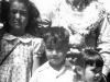Jimmy Inafuku at his homecoming with family members, Hawaii [Courtesy of Carol Inafuku]