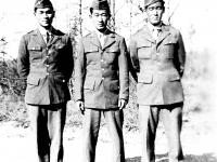 James Kawashima (middle) and friends [Courtesy of Alexandra Nakamura]