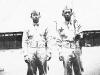 A friend and James Kawashima at Schofield Barracks. [Courtesy of Alexandra Nakamura]