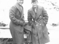 Robert Matsuura and Takeo Daido. [Courtesy of Sonsei Nakamura]