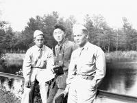 Kobashigawa, Teshima & Nakasao [Courtesy of Sonsei Nakamura]