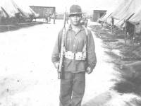 James Oshiro at Schofield Barracks. (Courtesy of Lorraine Cross)