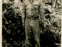 Sgt. Shimogaki. Taken at Mobile, Alabama, April 17, 1943. (Courtesy of Alvin Shimogaki)