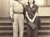 Calvin Shimogaki with wife Ethel. (Courtesy of Alvin Shimogaki)