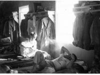 Camp McCoy barracks [Courtesy of Goro Sumida]