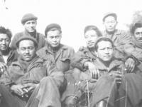 1st row: Oliver Abe,  Takashi Kusunoki, 2nd row:  Tonaki,  ?  , Dick Hirano,  Miyaato, 3rd row:  David Novack, ? [Courtesy of Goro Sumida]