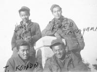 Hong Kong, Fred Takayama, T. Kondo, ? [Courtesy of Goro Sumida]