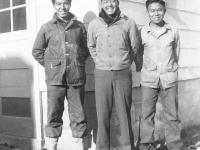 Robert Toma, Raymond Kitsu, Tetsuo Tateishi [Courtesy of Goro Sumida]