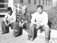 Clarence Yamamoto, Yutaka Inouye, Goro Sumida [Courtesy of Goro Sumida]