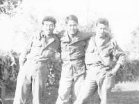 Fred Takayama (center) and 2 friends [Courtesy of Goro Sumida]