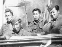 Jun Hayakawa, Isamu Tomita, Ralph Fukunage, Nick Nishibayashi [Courtesy of Goro Sumida]