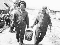 Henry Terada and B.J. Kimura. [Courtesy of Mrs. William Takaezu]