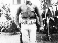 William Takaezu in uniform. [Courtesy of Mrs. William Takaezu]