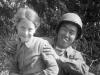 Roy Furukawa and friend [Courtesy of Mrs. William Takaezu]