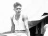 William Takaezu at camp Shelby in Mississippi. [Courtesy of Mrs. William Takaezu]