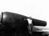 Patrick Tokushima and cannon on Ship Island, Mississippi. [Courtesy of Mrs. William Takaezu]